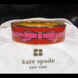 """Kate Spade """"All Wrapped Up"""" Brass Bangle"""